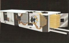 Secadora (Invernadero) para Madera EVLV (Vapor)