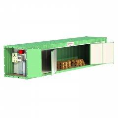 Estufa para Tratamento de Pallets Itinerante Container