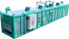 Continuous Gas Heating Oven