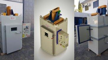 Contraco delivers the Greenhouse to the Capacitor Testing Laboratory to WEG Equipamentos Elétricos S / A - Jaraguá do Sul Laboratory Tradu