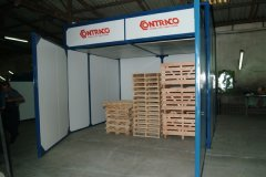 Greenhouse for Pallets Treatment - ETSE