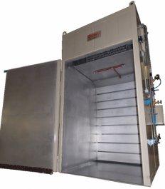 Horno calefactor de tambor - Vapor