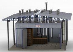 Secadora de madera (invernadero) - EVS (dispensación de calderas)