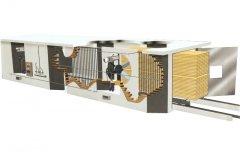 Secador/Estufa para Madeira EVLV (Vapor)