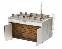 Secador(Estufa) para Madeira - EVS (Dispensa Caldeira)